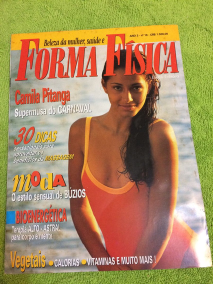 Revista Forma Física Camila Pitanga Marcos Frota Massagem