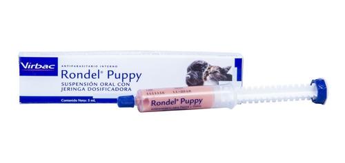 Desparasitante Cachorro Rondel Puppy Perros Y Gatos X 5ml.