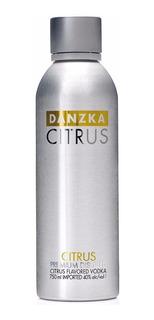 Vodka Danzka Citrus Importada De Dinamarca Envio Gratis Caba