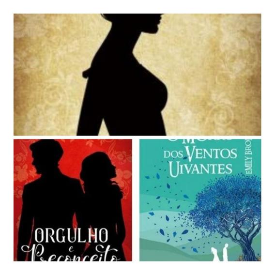 Kit Com 3 Livros Persuasão + Orgulho E P + Morro Dos Ventos