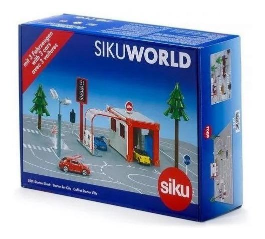 Siku 5501 Ciudad E 1:50 Siku World Starter Set City 8 Autos