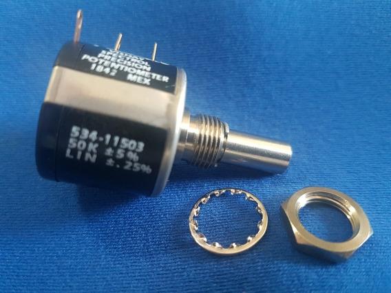 Potenciômetro Multivoltas Vishay Spectrol 534 50k 534-11503