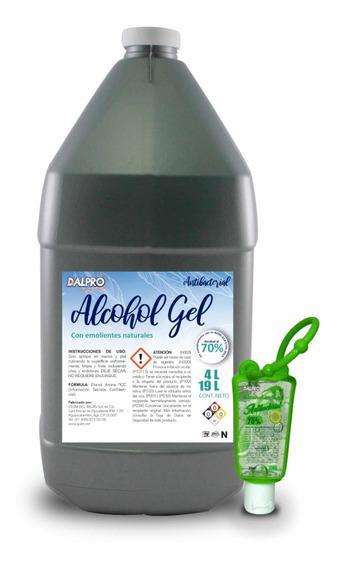 Gel Antibacterial 4 Litros S/dosificador + Gel Gratis 30 Ml