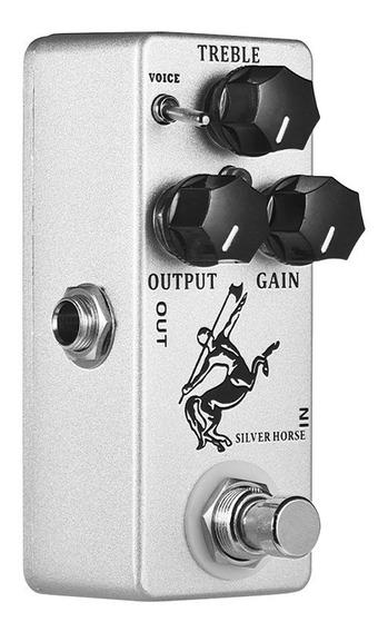 Mosky Silver Horse Overdrive Impulso Guitarra Efeito Pedal