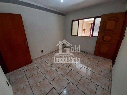 Casa Com 2 Dormitórios, 62 M² - Venda Por R$ 260.000,00 Ou Aluguel Por R$ 1.300,00/mês - Campos Elíseos - Ribeirão Preto/sp - Ca2001