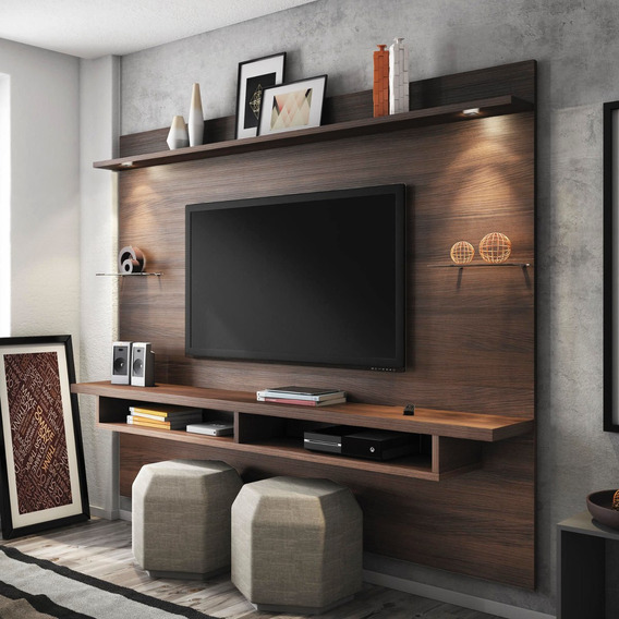 Painel Para Tv Até 60 Polegadas 4 Prateleiras Veneza Ic