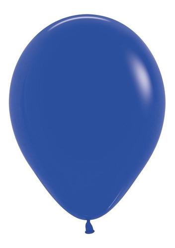 Globo R-9 Fashion Azul Rey  X 50 -sempertex