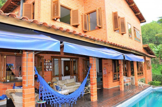 Casa Com 5 Dormitórios À Venda, 305 M² Por R$ 1.050.000 - Carneiro Viana - Granja Viana - Cotia/sp - Ca1504