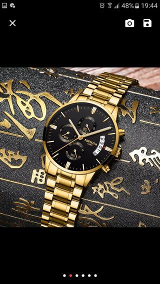 Relógios De Luxo Nibosi Masculino