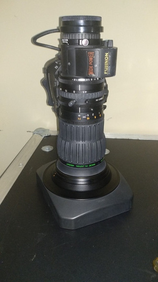 Lente Fujinon Hd G.a B4 2/3 P Xdcam Sony P2hd Hdc Não Canon