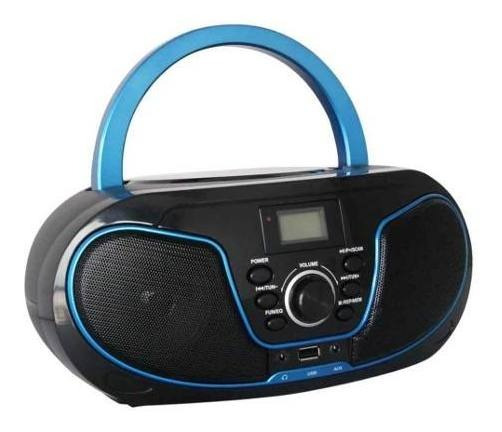 Rádio Bluelife Boombox Bluetooth Usb Sd Aux Cd Leadership Nf