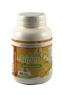Vitamina C Super C Alta Potencia - 60 Capsulas De 1000mg