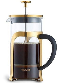 Cafetera/prensa Francesa Vonshef, Premium De Acero