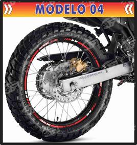 Adesivo Friso Refletivo Honda Xre 300 Xre300 M04