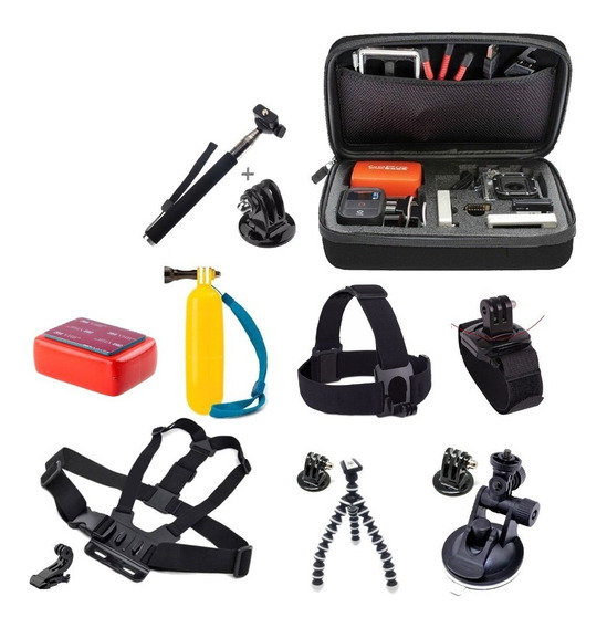 Kit Go Pro Hero Black 5 6 Full Hd Session V3 4k Wifi Sports
