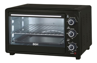 Horno Grill Bgh Bhe30m19 30l 1500w Timer Negro