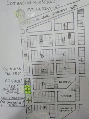 Tres Solares Juntos-urbanizacion Municipal Villa Elvita