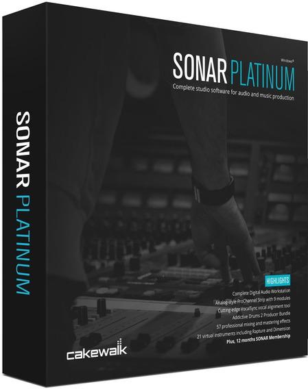 Sonar Platinum 23.6.0.17 +cakewalk Sonar Content