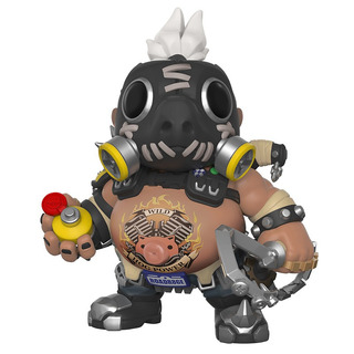 Funko Pop! Games: Overwatch - Roadhog - 15cm - 6 Pulgadas