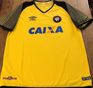 Camisa Do Atlético Pr Léo #99 Brasileirão 2018 De Jogo