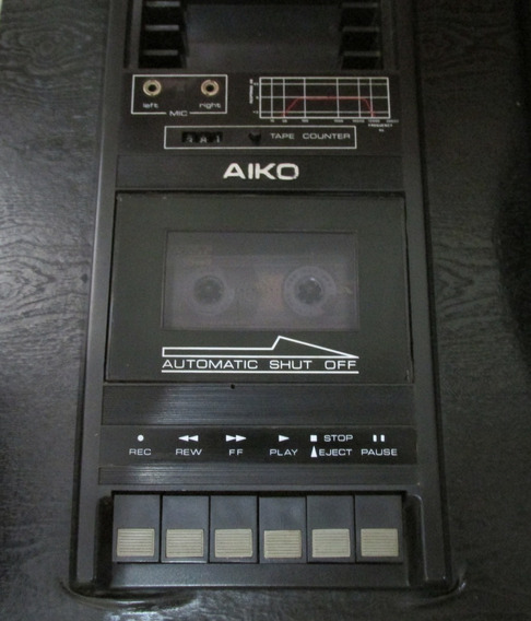 Correia Tape Deck Aiko Ahs 124 Frete Grátis