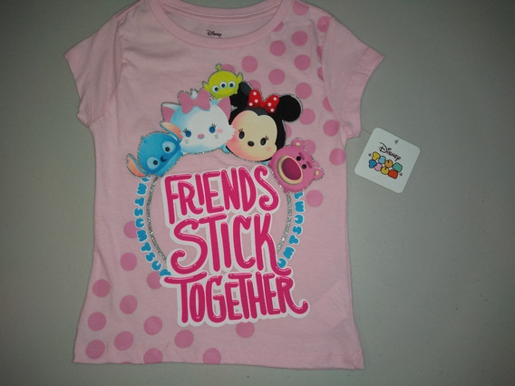 Playera Niña Tsum Disney Friends Talla 6