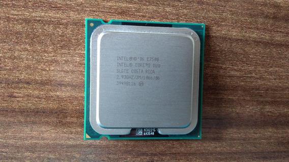 Processador Socket 775 - Core 2 Duo - E7500 2.93 Ghz