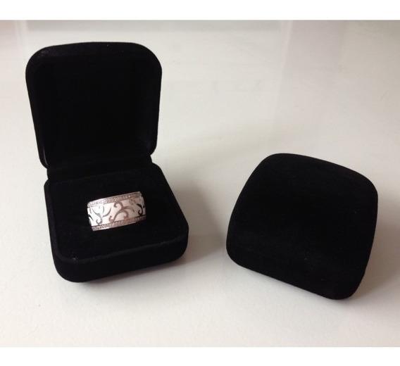 Anel Ouro 18k Com Diamantes
