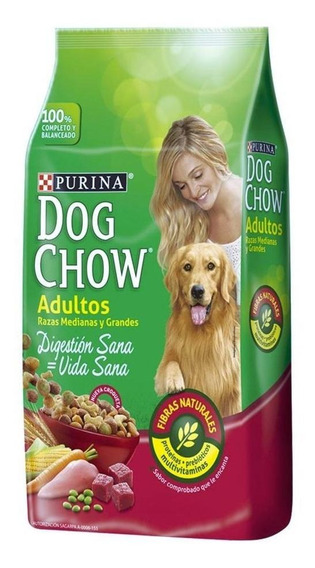 Alimento Dog Chow Vida Sana Digestión Sana perro adulto raza mediana/grande 25kg