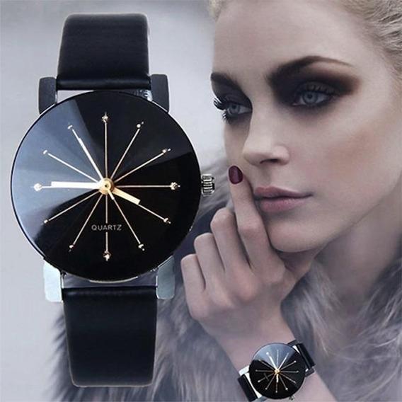 Relógio Feminino De Pulso Prisma Diamante Quartzo Strass