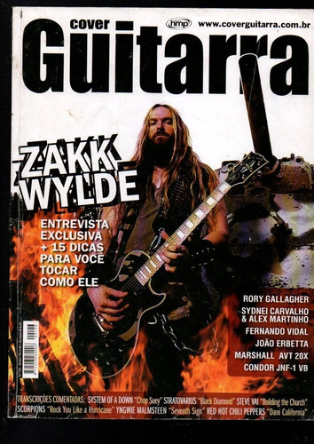 Revista Cover Guitarra Zakk Wylde Nº 146 (605)