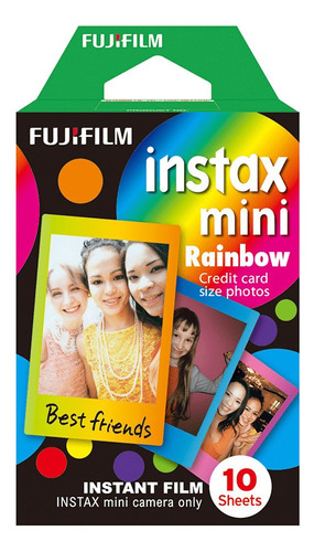 Filme Instax Mini Rainbow - 10 Fotos