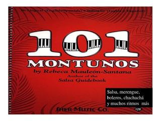 101 Montunos Piano Salsa Yamaha Korg Roland
