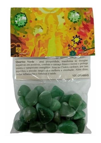 Pedra Rolada Quartzo Verde 100g - 4004
