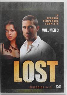 Lost Segunda Temporada Volumen 3 Episodios 9-12 Dvd