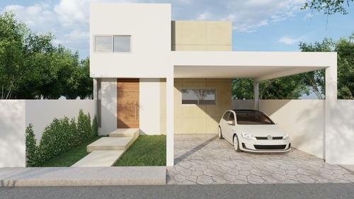 Casa Nueva En Venta En Real Montejo, A Unos Metros Del Periférico, Mérida Norte
