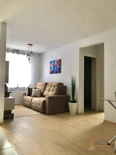 Apartamento Com 2 Dormitórios À Venda, 50 M² Por R$ 179.900,00 - Diamantino - Caxias Do Sul/rs - Ap0256