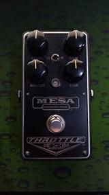 Pedal Mesa Boogie Throttle Box Com Caixa E Manuais + Brinde