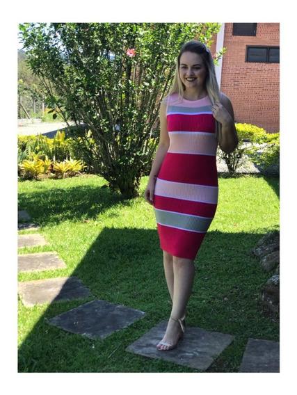 Kit Com 2 Vestidos Arco Íris - Canelado
