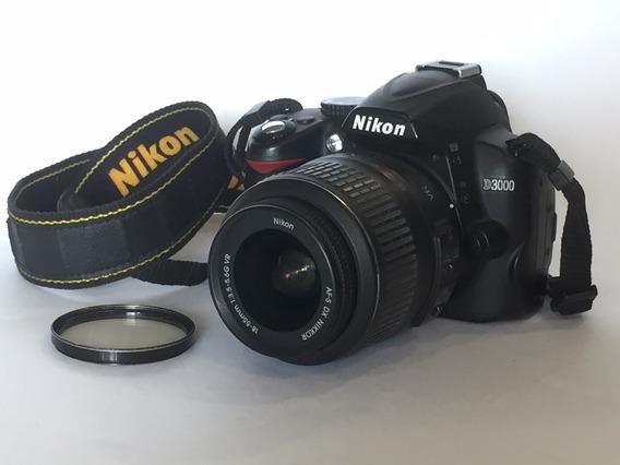 Nikon D3000 Com Lente 18-55mm - Não Despacho!