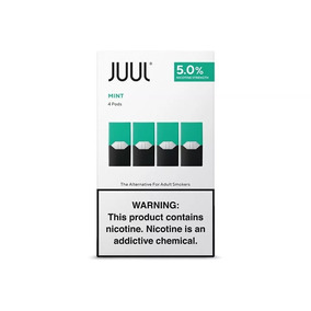 Juul Refil Com 4 Pods Tobacco Menthol Mango Cool Mint