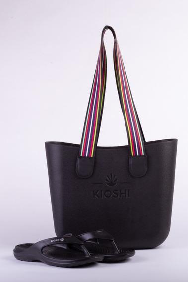 Bag Playero + Flips Flop Kioshi