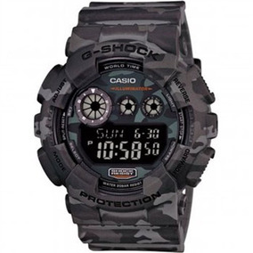 Relogio Masculino Casio G-shock Anadigi Gd-120cm-8dr