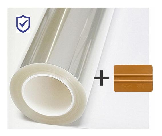 10m X 1,5m Film Seguridad P Vidrios Protección 100 Micrones