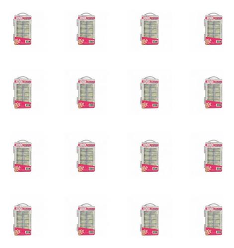 Hello Mini Unhas Almond C/100 (kit C/12)