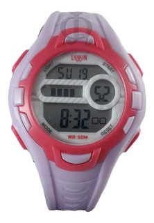 Reloj Niño Digital Luz Alarma Crono Lemon Dl202