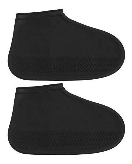Meia Anti-chuva Protege Sapato Silicone Impermeável Em Gel