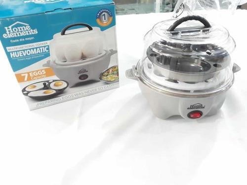 Hervidor De Huevos  Home Elements Cocido - Entero - Omelette