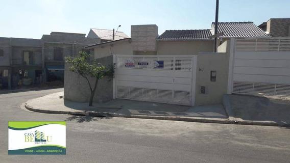 Casa Com 2 Dormitórios À Venda, 68 M² Por R$ 250.000 - Portal Da Estação - Franco Da Rocha/sp - Ca0474