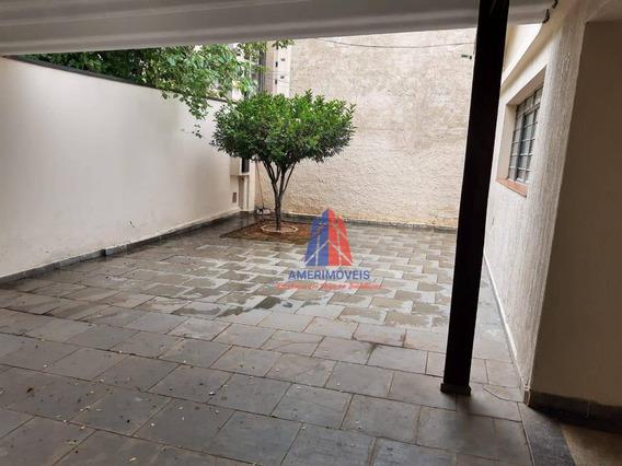 Casa Com 2 Dormitórios Para Alugar, 111 M² Por R$ 1.500,00/mês - Vila Santa Catarina - Americana/sp - Ca1168
